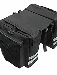 cheap -bike panniers bicycle bags waterproof grocery with adjustable straps hooks carrying handle large pockets