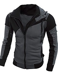 cheap -men's sweater, warm hoodie man hooded sweatshirt jacket coat (m, black)
