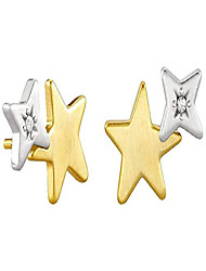 cheap -jae star ear climber earrings mixed metal one size