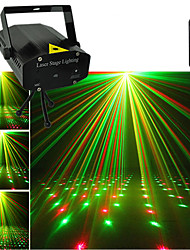 cheap -Mini Color Stroboscope Projector Star Sky Laser Light Music For Home Par Xmas Party Disco Stage Flash Lighting Strobe Lights