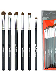 cheap -7 Pcs horsehair eye shadow brush set JAF animal hair makeup brush beginner beauty tool
