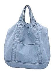 cheap -cross-body bucket bag messenger bag shoulder handbag denim,light blue