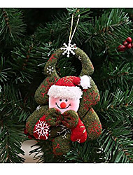 cheap -christmas tree ornaments adorable holiday decor (snowman)