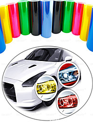 cheap -Car Tint Headlight Taillight Fog Light Vinyl Smoke Film Sheet Sticker Cover Automobiles Decal Car Styling 30cm X 60cm TSLM1