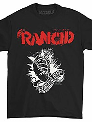 cheap -rancid - let's go t-shirt 1 x 1in