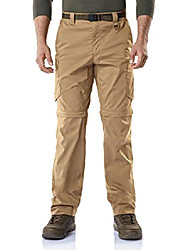 cheap -men's convertible cargo pants, water repellent hiking pants, zip off lightweight stretch upf 50+ work outdoor pants, convertible cargo with belt(txp403) - stone, 32w x 30l