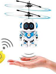cheap -Flying Gadget Flying Toy Hand Operated Drones Plane / Aircraft Helicopter Robot Rechargeable with Infrared Sensor Plastic Shell Kid's Adults Boys and Girls Toy Gift 1 pcs