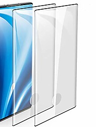 "cheap -2-pack galaxy note 10 plus screen protector, fingerprint recognition 3d touch coverage hd clear anti-bubble 9h hardness tempered glass screen protector for samsung galaxy note 10 plus/note 10+ (6.8"")"