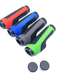 cheap -Bike Handlerbar Grips Anti-Slip Cycling Easy to Install For Road Bike Mountain Bike MTB Folding Bike Recreational Cycling Fixed Gear Bike Cycling Bicycle Rubber Red Blue Green 2 pcs