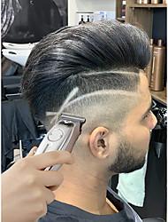 cheap -Kemei 1949 Professional Hair Clipper All Metal Men Electric Cordless Hair Trimmer 0mm Baldheaded T Blade Finish Haircut Machine