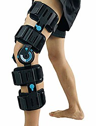 cheap -hinged post op knee brace, adjustable rom leg stabilizer recovery immobilization after surgery - medical orthopedic guard protector immobilizer brace for injury, universal