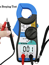 cheap -KT87N Digital Multimeter Amper Clamp Meter Current Clamp Pincers AC DC Current Voltage Tester pinza amperimetrica digital