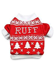 cheap -pet dog christmas shirt dog t-shirt xmas dog shirts christmas for small dogs, small