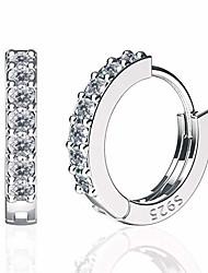 cheap -925 sterling silver small hoop earrings for women girls, 14k gold plated cubic zirconia huggies earrings hypoallergenic cartilage earrings, black