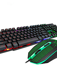 cheap -MK-680 Gaming keyboard for Desktop Notebook Floating Keycap Backlit Gaming Mouse And Keyboard for Computer
