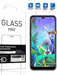 "cheap -compatible with lg q60 screen protector  [1 pack] high definition anti-scratch waterproof cell phone protective film tempered glass for lg q60 2019 6.26"" -1pcs"