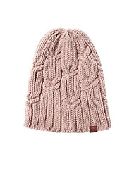 cheap -women's sloughy beanie, light pink, one size