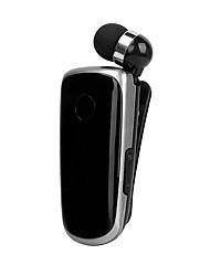 cheap -K39 Mini Portable Earset Wireless Bluetooth 4.1 Earphone In-Ear Headset Vibrating Alert Wear Clip Hands Free Earphones For Phone Samsung Huawei