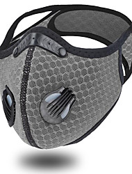 cheap -2 pcs Cycling Mask Dust Mask PM2.5 Outdoor Running Sports Men And Women Bicycle Mask