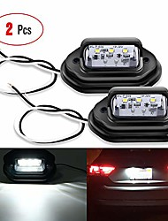 cheap -2pcs 12v led license tag light convenience courtesy door step lights waterproof/rainproof dome/cargo lights or under hood lights legal for car truck rv trailer, 2 years warranty