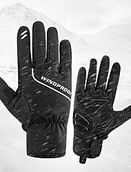 cheap -Bike Gloves / Cycling Gloves Touch Gloves Anti-Slip Wearable Motor Bike Winter Sports Full Finger Gloves Sports Gloves Black for Adults' Road Cycling Cycling / Bike