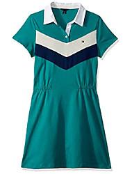 cheap -big girls' short sleeve polo dress, parasailing, l12/14