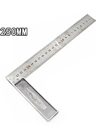 cheap -250MM Aluminum alloy square ruler right angle 90 Turning ruler Woodworking ruler Steel turning ruler measuring tools gauge