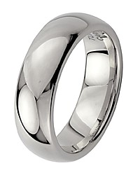 cheap -6mm men's tungsten wedding band - size 11.5