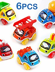 cheap -toy cars for toddlers pull back cars baby toys for 1 2 3 year old boy girl construction vehicles role-play fun toy gifts for 18m 20m 24m+