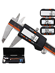 cheap -Stainless steel digital vernier caliper with fraction display electronic caliper 0-150 mm