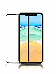 cheap -compatible with iphone xr screen protector full protection durable 18d tempered glass (6.1 inch)