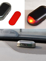 cheap -Car Fake Security Light Solar Powered Simulated Dummy Alarm Wireless Warning Anti-Theft Caution Lamp LED Flashing Imitation