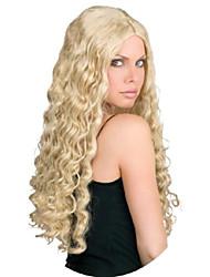 cheap -24-inch luscious blonde wig