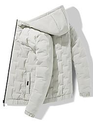 cheap -men's stretchdown ds hooded jacket, black, xl