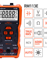 cheap -NCV Digital Multimeter 6000 Counts Auto Ranging AC/DC Voltage Meter Flash Back Light Large Screen
