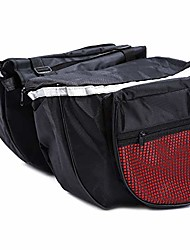 cheap -bicycle rear pannier bag, 25l large capacity bicycle pannier bag waterproof mountain bike bag lightweight bike pouch-bicycle rear saddle panniers accesories, 600d polyester,anti -scratch, black