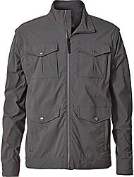 cheap -men's traveler convertible jacket, charcoal, small