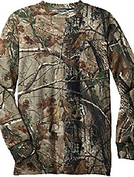 cheap -(tm) - realtree explorer 100% cotton pocket long sleeve t-shirt camo hunting shirtslargelong sleeve pocket t-shirt realtree ap