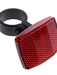 cheap -bicycle bike reflector reflective rear warning light safety lens (red rear)