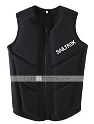 cheap -Life Jacket Swimming Professional Ergonomic Design Neoprene Surfing Kayaking Water Sports Sun Shirt Life Jacket for Adults / Solid Colored