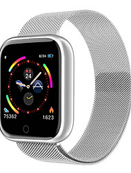 cheap -Stainless Smartwatch for Apple/Android/Samsung Phones, Sports Tracker Support Heart Rate/Blood Pressure Measure
