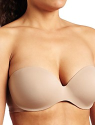 cheap -women's this is not a bra convertible strapless bra, toasted almond, 36b