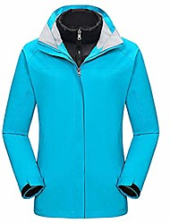 cheap -women's fashion outdoor three-in-one two-piece mountaineering down liner coat