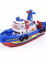 cheap -marine rescue boat model toy,kids music light water spray electric marine rescue fire boat model education toy great holiday birthday gifts random color