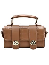 cheap -Women's Bags Top Handle Bag Daily Handbags Black Khaki Coffee