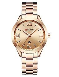 cheap -original women's girls sports waterproof stainless steel date quartz wrist watch 9007