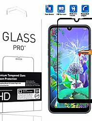 "cheap -compatible with nokia 7.2 screen protector  [1 pack] high definition anti-scratch waterproof cell phone protective film tempered glass for nokia 7.2 2019 6.3"" -1pcs"