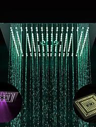 cheap -Contemporary Rain Shower Chrome Feature - LED / Shower, Shower Head