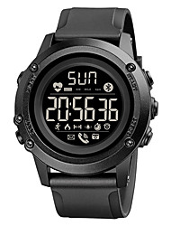 cheap -1671 Unisex Smartwatch Bluetooth Waterproof Heart Rate Monitor Sports Calories Burned Long Standby Stopwatch Pedometer Call Reminder Activity Tracker Alarm Clock