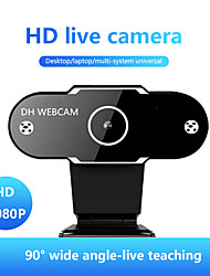 cheap -HD Webcam 1080P Auto/Manual Focus Web Camera With Microphone Live Video Conference Work USB Cam For PC Laptop Computer